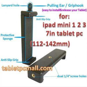 Clamp Holder Dual Screw 7in iPad Mini Horizontal Vertical