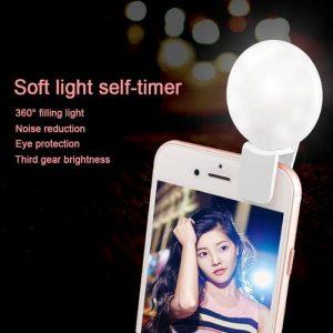 Lampu Selfie Mini Q Portable