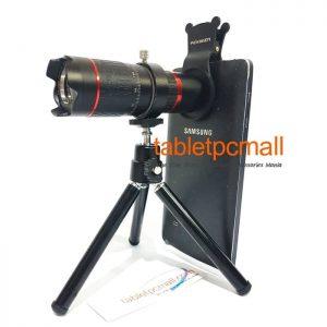 Lensa Telescope 4K 14x Telephoto Lens Tripod for Smartphone