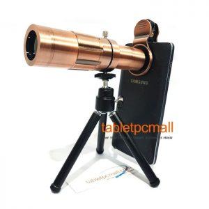 Tripod Lensa Telescope 4K HD 20x Metal Telephoto Optical Lens for Smartphone