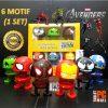 Boneka Per Avengers 1 Set isi 6 Karakter Hadiah Ulang Tahun Gift 2724